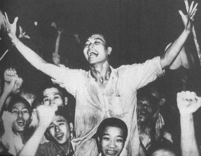 45年8月15日日本宣布无条件投降 中国伤亡2100万人
