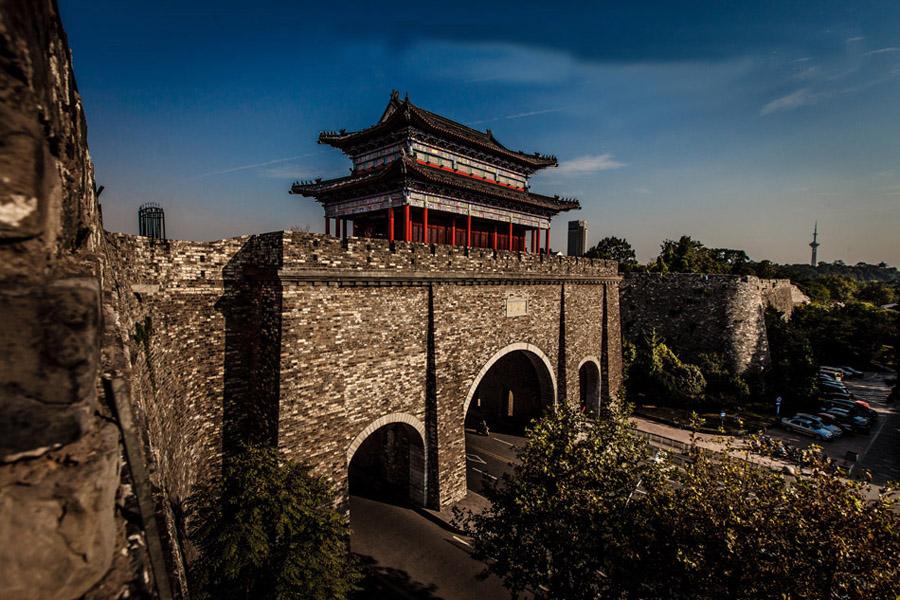 南京明城墙城门