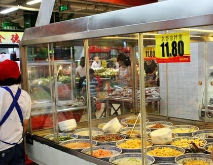 超市/永辉超市国锦店内已没有凉皮在销售