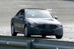 2014款奔驰C级路试谍照 北美车展发布