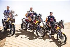 KTM发布新款450cc赛车 摩洛哥赛场亮相