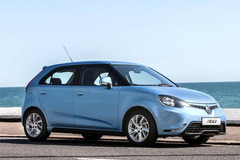 欧版上汽MG3官图发布 有望年内正式发布