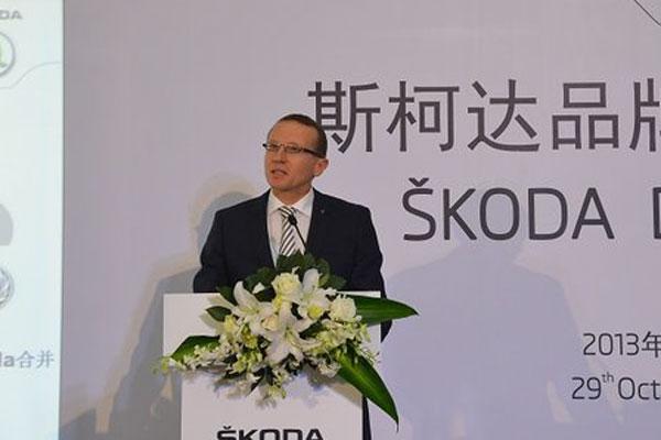 韩麦安:每四辆斯柯达将有一辆在华销售
