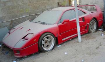 有钱你也不能这么糟 迪拜遍地豪车被遗弃
