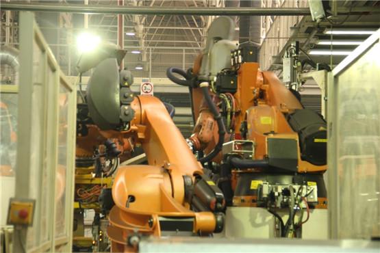 参观一汽 大众成都工厂 新速腾诞生地高清图片