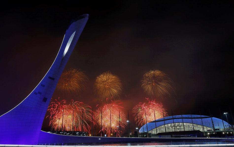 北京时间2014年2月24日,俄罗斯索契,2014索契冬奥会闭幕式举行。