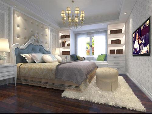 即使是欧式风格,材料选购与其他房子的装修也并没有
