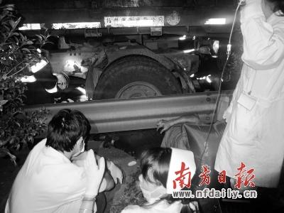 陆丰/深汕高速货车追尾两死两伤