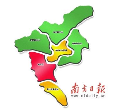 广州轨道卡通示意图