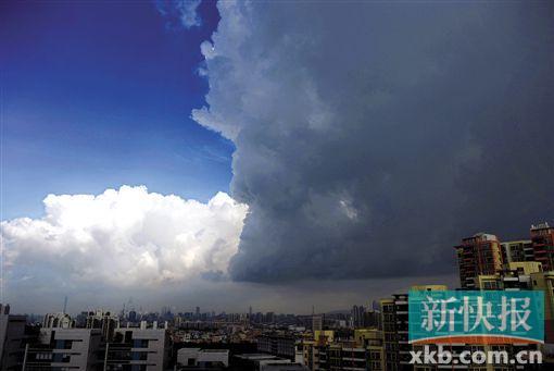 ■最近几日广州天气炎热.-台风 威马逊 周末或严重影响广东 大到暴雨