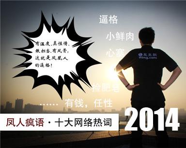 凤人疯语2014十大网络热词