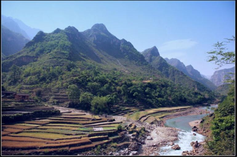 云南省昭通市鲁甸县自然景观丰富,少数民族文化底蕴深厚,古朱提银图片