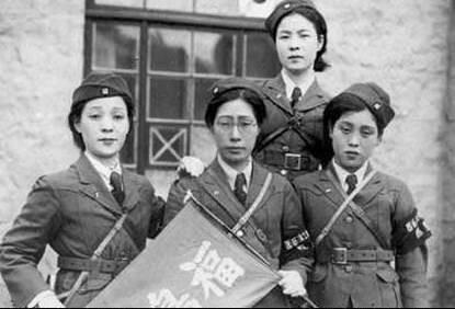 """老照片:日本书中的真实随军""""慰安妇""""曝光"""