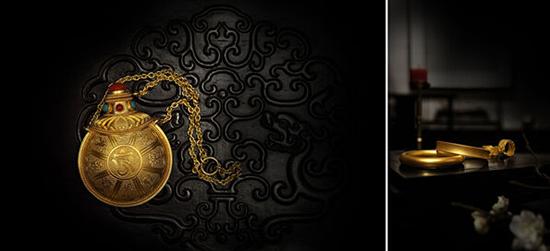 """店内每一件手工金器,都是千年宫廷皇家绝技的真实见证,重现了""""中国古"""