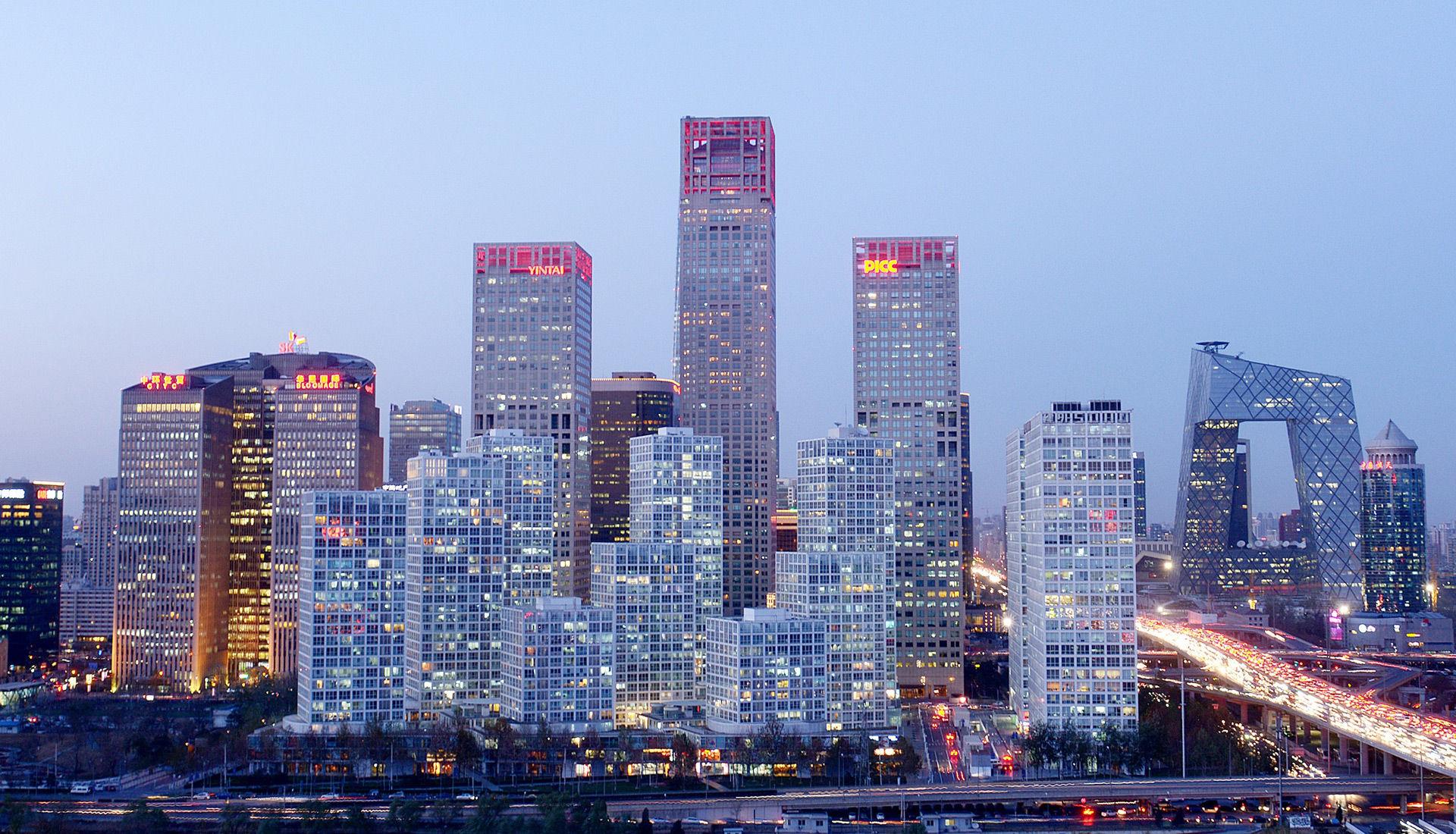 北京商业区