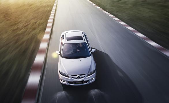 2013款Mazda6-白车俯视篇