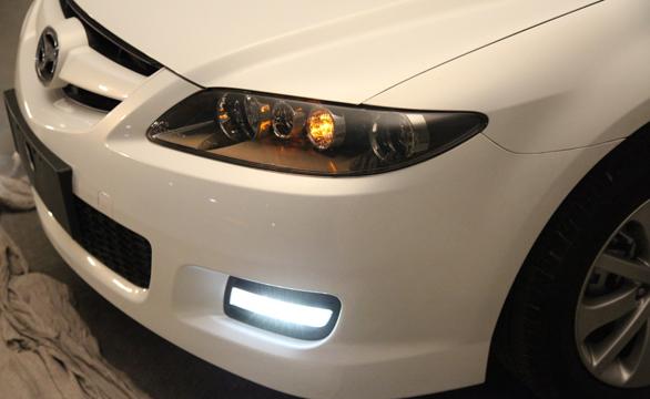 2013款Mazda6-日行灯