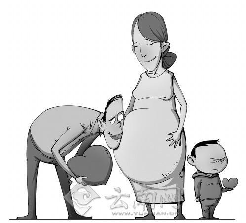 """记者调查:昆明妈妈想生二胎 过半""""老大""""不乐意"""