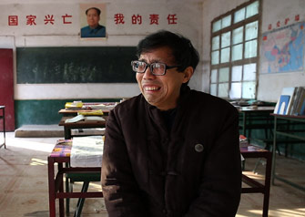 一名崇拜毛泽东的校长