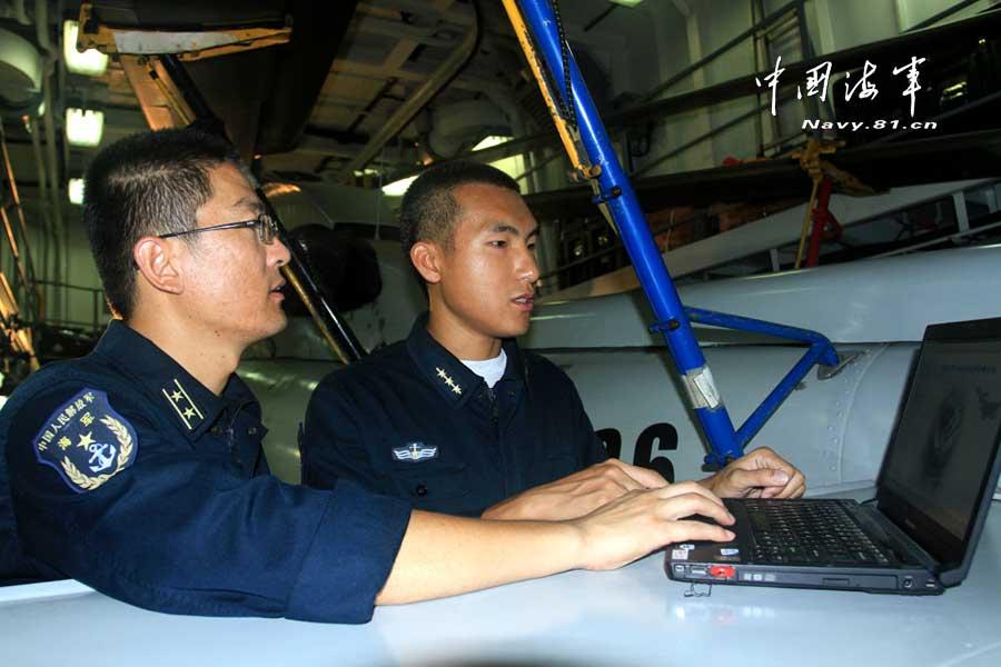 海军成功研发舰载直升机故障诊断系统 为飞机做CT