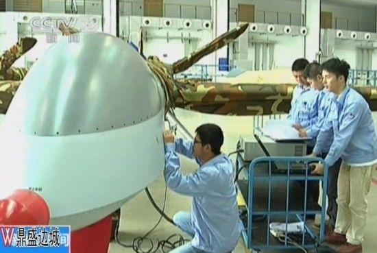 中国翼龙无人机生产车间曝光 组装调试现场忙碌