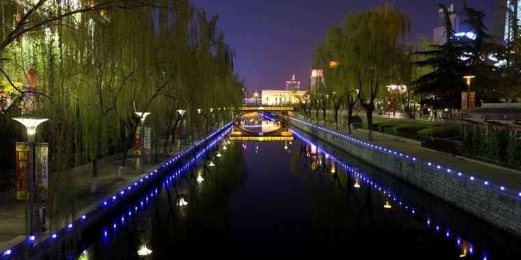 泉城广场靓丽夜景