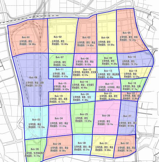 济南中心城12个片区规划出炉 广纳市民建议 规划图高清图片