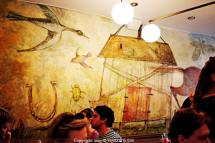 室内的手绘墙
