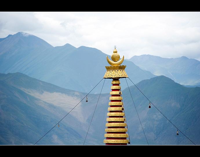 藏传佛教·哲蚌寺虔诚的观佛人潮 - 静水流深 - 静水流深