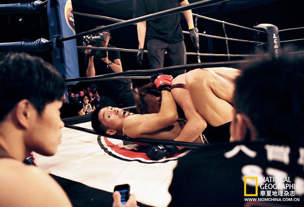 综合格斗运动员很难运用自己的