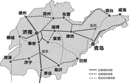 临沂至青岛高速地图