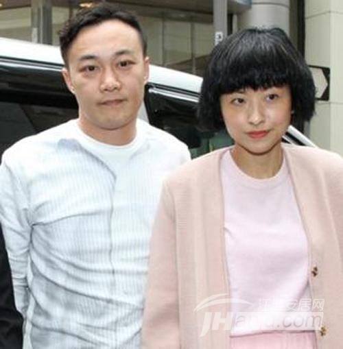 陈奕迅与老婆徐濠萦合影图片