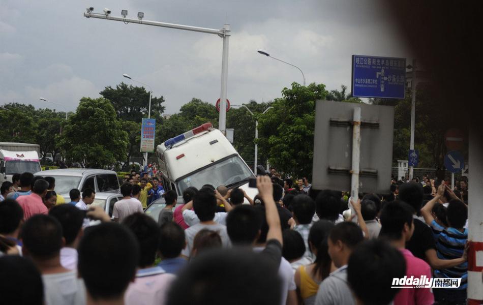 广东中山市迅速妥处一起外来人员聚集事件