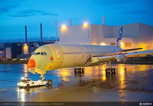 宽体飞机系列是空客全新中型远程飞机系列,由三款尺寸不同的客机机型