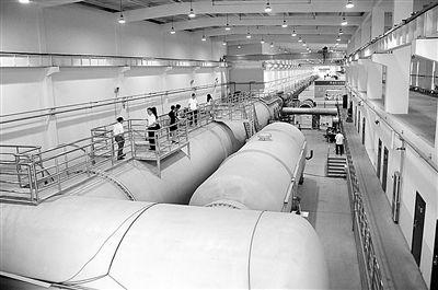 中国JF12激波风洞试验时间100毫秒 三倍于国外