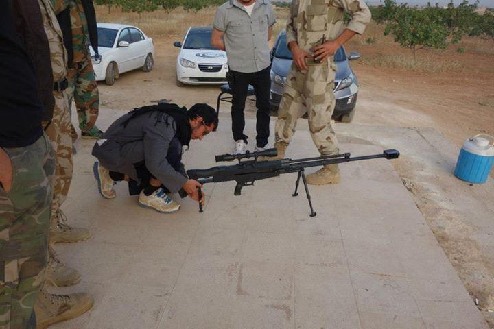 中国/叙反对派使用新型大狙疑似中国造M99型狙击步枪(/15)