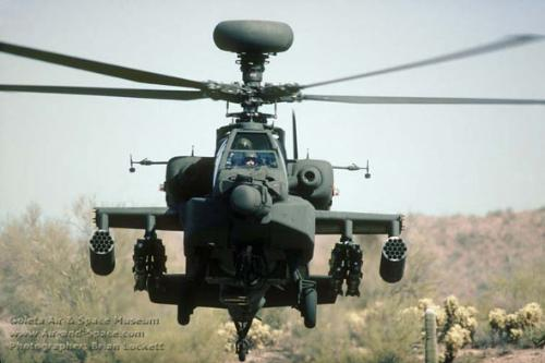 阿帕奇武装直升机(资料图)