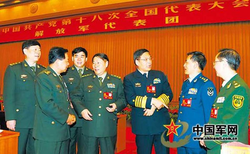 """军代表团和武警部队代表团中,有7位代表同名都叫""""建国"""",且他图片"""