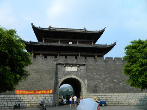 赣州也是一座比较有历史的古城了