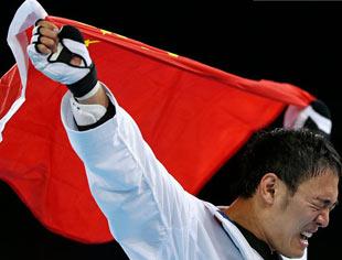 奥运收官日中国无金牌入账