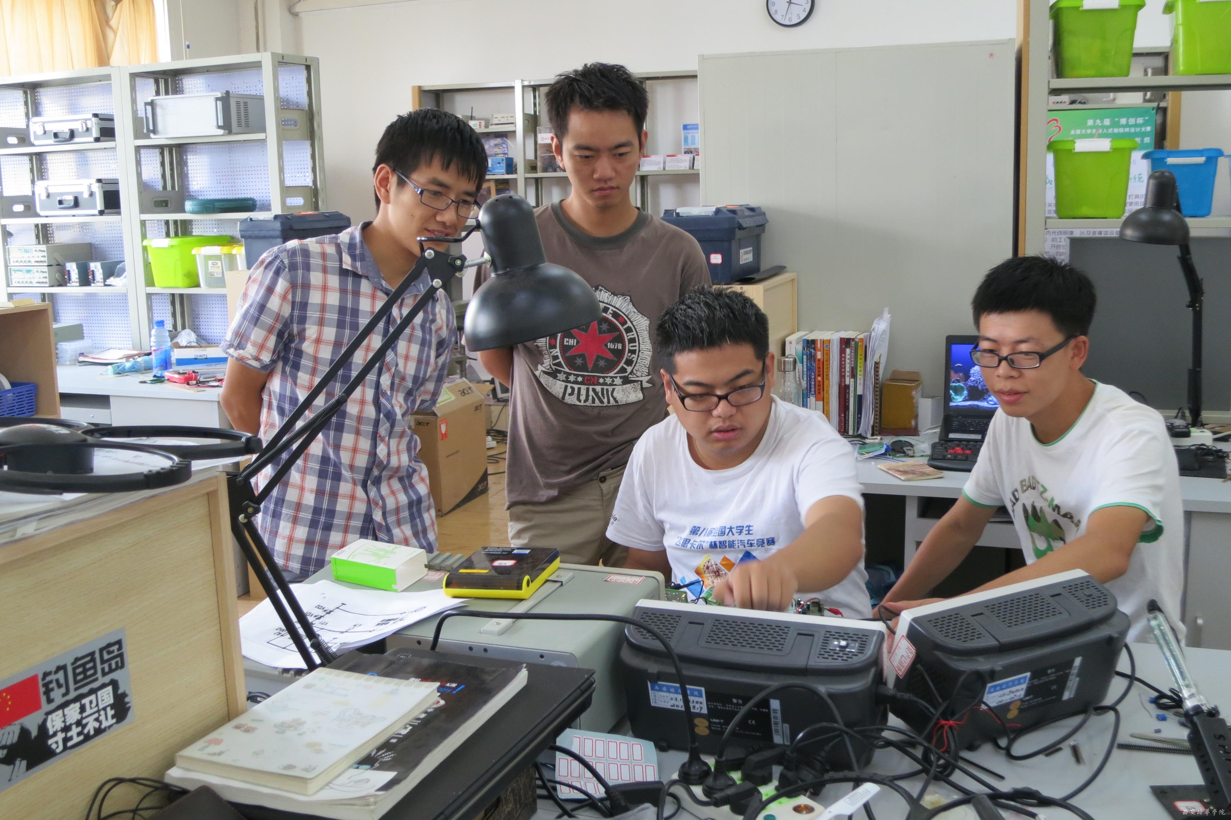 全国大学生电子设计大赛中图片