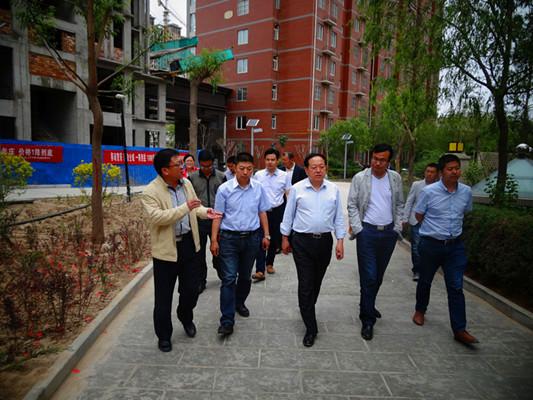 靖边县:创建省级生态园林县城顺利通过市级初验