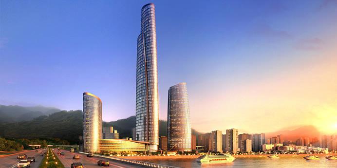 瓜田 盘点中国在建十大摩天大楼