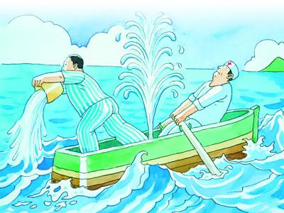 在病魔面前,医生和患者不是一直同乘一舟?图片