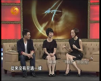 2013 07 18鲁豫有约 康辉 国脸 也浪漫