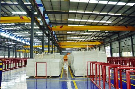 厂房建设规划占地面积约200亩,主要建设内容包括搭建轻钢结构加工车间