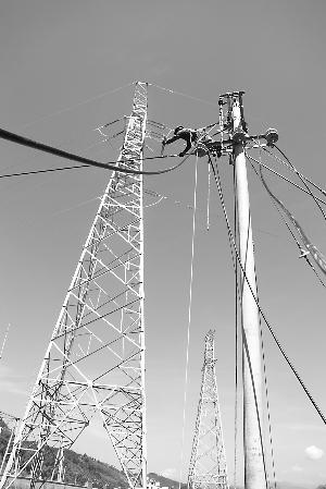 顺昌供电公司对农村供电线路进行改造
