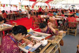 中国刺绣 地理坐标看 镇湖