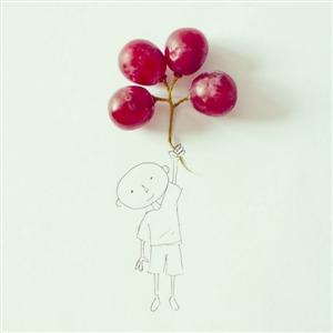 葡萄可以是气球