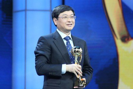 中国联通总经理陆益民当选中国经济年度人物